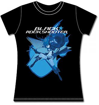 Black Rock Shooter T-Shirt - BRS2035 (Junior XXL)