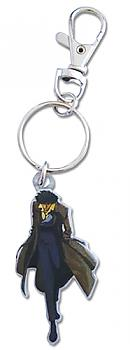 Cowboy Bebop Key Chain - Spike Metal
