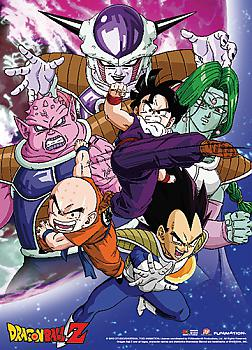 Dragon Ball Z Fabric Poster - Gohan VS Frieza Group
