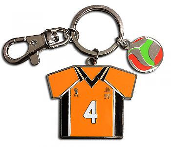 Haikyu!! Key Chain - Number 04 Team Uniform