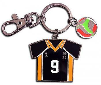 Haikyu!! Key Chain - Number 09 Team Uniform