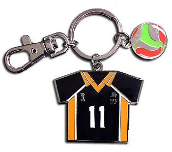 Haikyu!! Key Chain - Number 11 Team Uniform