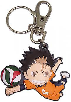 Haikyu!! Key Chain - SD Nishinoya