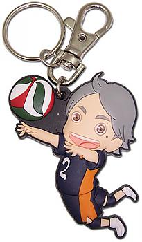 Haikyu!! Key Chain - SD Sugawara