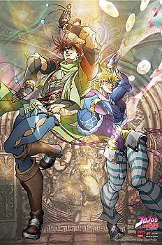 Jojo's Bizarre Adventure Fabric Poster - Dancing