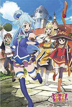 Konosuba Paper Poster - Key Visual 1