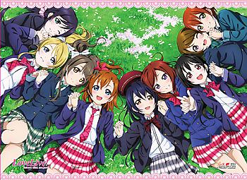 Love Live! Wall Scroll - Group 2