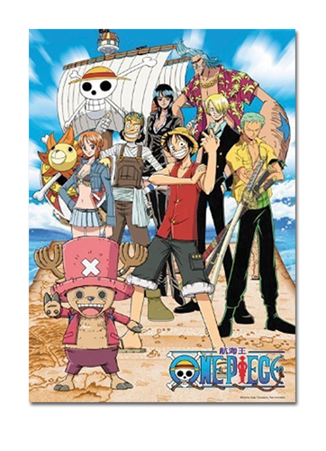 One Piece Puzzle - Straw Hat Pirate & Thousand Sunny ...