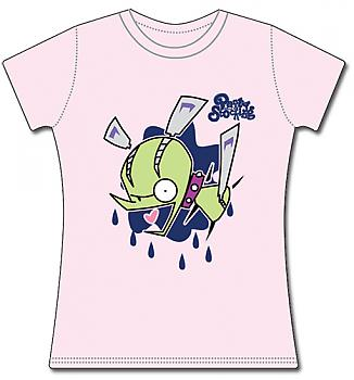 Panty & Stocking T-Shirt - Chuck Pink (Junior XL)