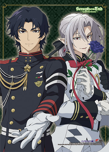 seraph of the end wall scroll guren ferid archonia us