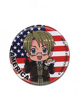 Hetalia 1.25'' Button - America Chibi