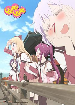 Yuruyuri Wall Scroll - Nosebleed