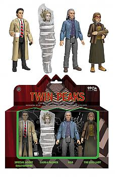 Twin Peaks Action Figure - Special Agent Dale Cooper, Laura Palmer, The Log Lady and Bob (4-pack)