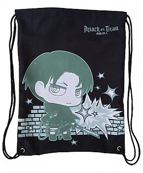 Attack on Titan Drawstring Backpack - SD Levi