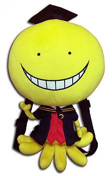 Assassination Classroom Plush Backpack - Koro-Sensei
