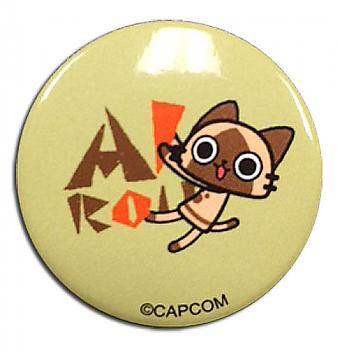 Airou From The Monster Hunter 1.25'' Button - Airou