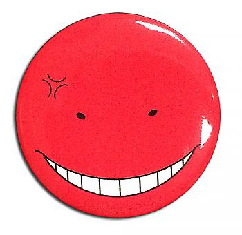 Assassination Classroom Button 1.25'' - Koro-Sensei Angry