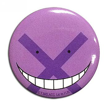 Assassination Classroom Button 1.25'' - Koro-Sensei Incorrect
