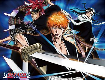 Bleach Blanket - Ichigo, Renji & Byakuya