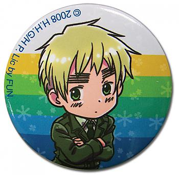 Hetalia 2'' Button - England SD