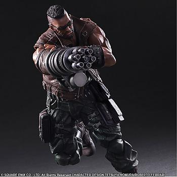 Final Fantasy VII Remake Play Arts Kai Action Figure - Barret Wallace