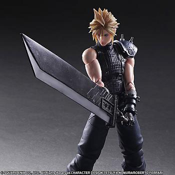 Final Fantasy VII Remake Play Arts Kai Action Figure - Cloud Strife