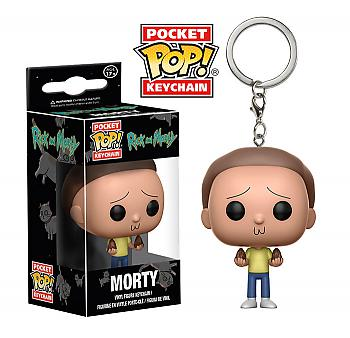 Rick & Morty Pocket POP! Key Chain - Morty