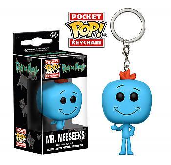 Rick & Morty Pocket POP! Key Chain - Mr. Meeseeks