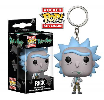 Rick & Morty Pocket POP! Key Chain - Rick
