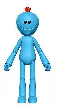 Rick & Morty 5'' Action Figure - Mr. Meeseeks