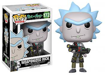 Rick & Morty POP! Vinyl Figure - Weaponized Rick