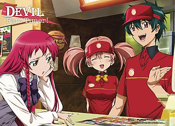 Devil is a Part-Timer Wall Scroll - Can I Take Your Order [LONG]