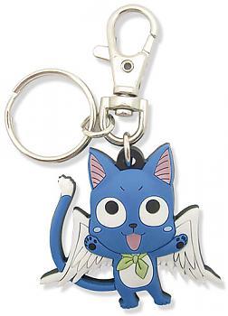 Fairy Tail Key Chain - Happy Wings