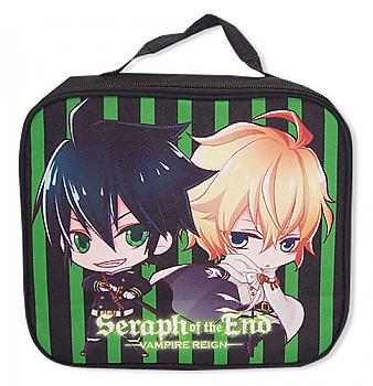 Seraph of the End Lunch Bag - SD Yuichiro & Mikaela
