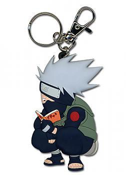Naruto Key Chain - Chibi Kakashi (Reading)
