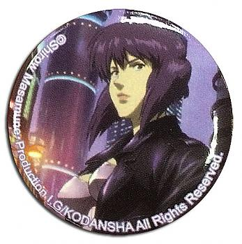Ghost in the Shell 1.25'' Button - Motoko Cityspace