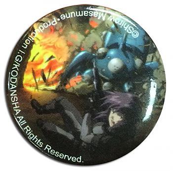 Ghost in the Shell 1.25'' Button - Motoko w/ Tachikoma Explosive