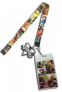 Street Fighter V Lanyard - Character Line Up