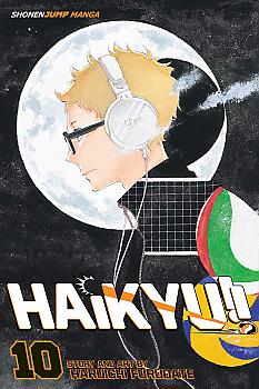 Haikyu!! Manga Vol.  10