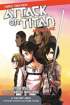 Attack on Titan Adventure Manga