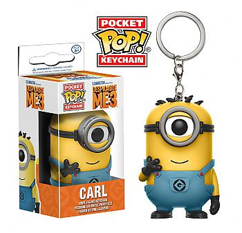 Despicable Me 3 Pocket POP! Key Chain - Carl Minion