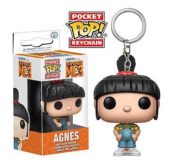 Despicable Me 3 Pocket POP! Key Chain - Agnes