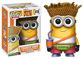 Despicable Me 3 POP! Vinyl Figure - Dave (Tourist) Minion