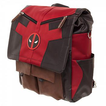 Deadpool Backpack - Costume Inspired Convertible