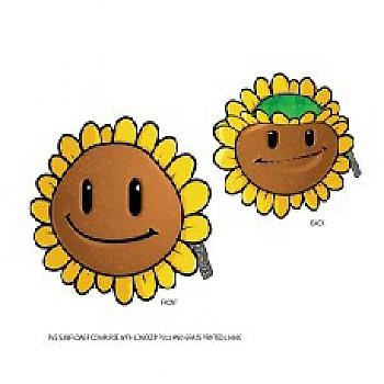 Plants Vs. Zombie Coin Purse - Sunflower w/ Logo