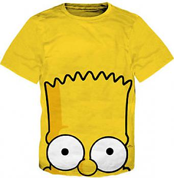 Simpsons T-Shirt - Bart Peekaboo (L)