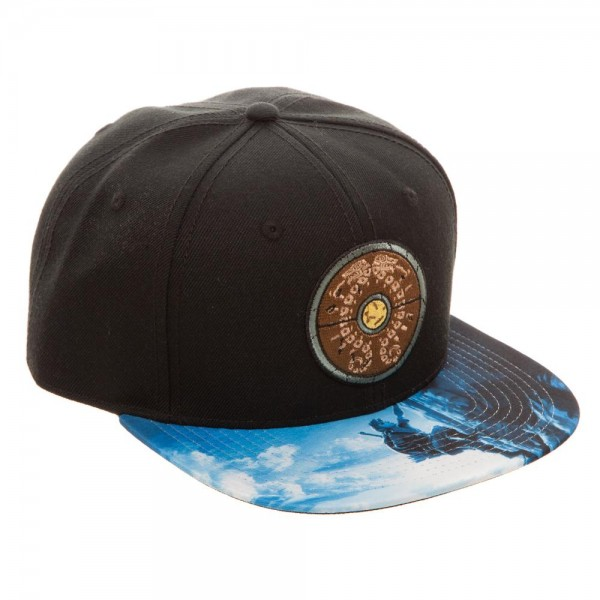 low priced 1c158 c0771 ... italy shield sublimated bill snapback. zelda cap breath of the wild  58540 1e216