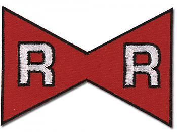 Dragon Ball Z Patch - Red Ribbon Mark