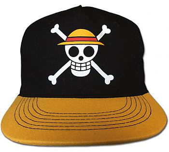 One Piece Cap - Straw Hat Crew Black & Gold