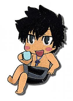 Fairy Tail Patch - Gray Drinking